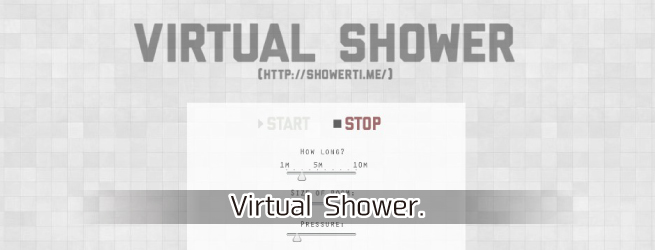 Virtual Shower.