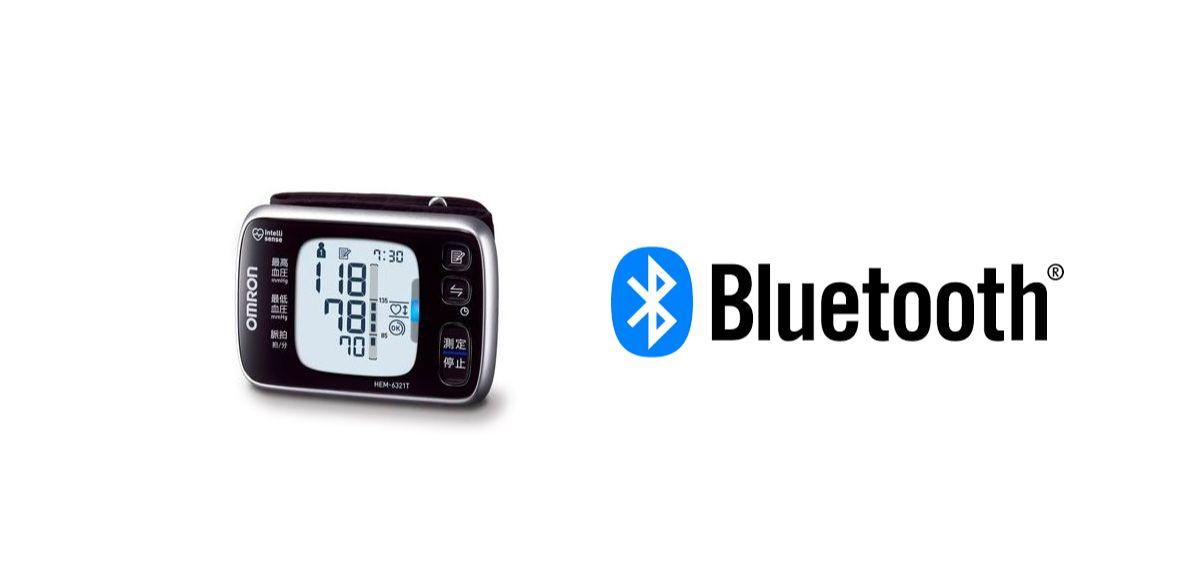Bluetoothで体重と血圧を送信